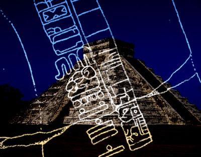 Die Pyramide El Castillo in Chichen Itza, ein heiliger Ort der Maya