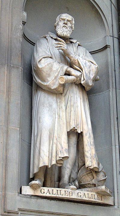 Galileo Galilei Statue in Florenz