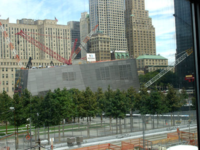 Mahnmal und Museum am Ground Zero