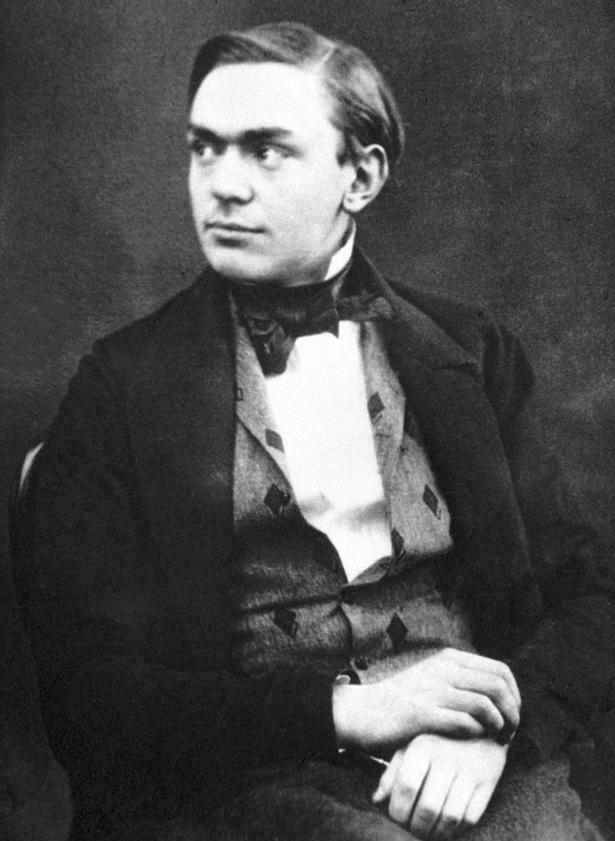 Der junge Alfred Nobel