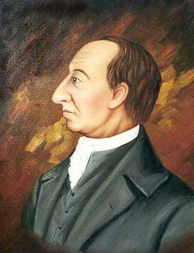 James Hutton glaubte, das geschmolzene Erdinnere steige in Vulkanen auf