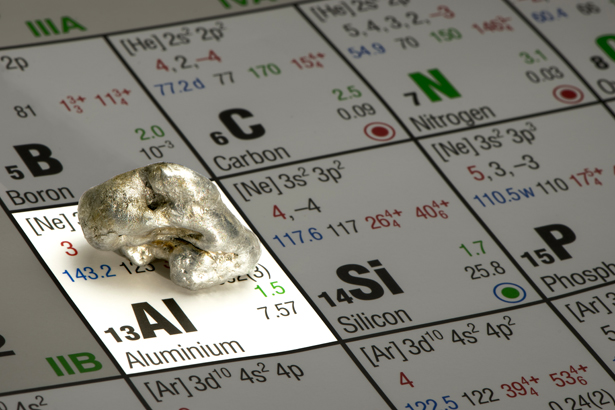 Aluminium: Ein Element, das nicht nur glanzvolle Seiten hat.