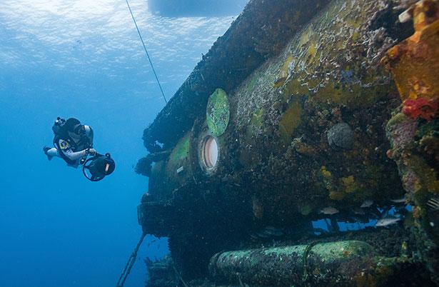 """Das Unterwasserhabitat Aquarius ist die """"Raumstation"""" der Aquanauten"""