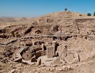 Ausgrabungen der Steinkreise von Göbekli Tepe