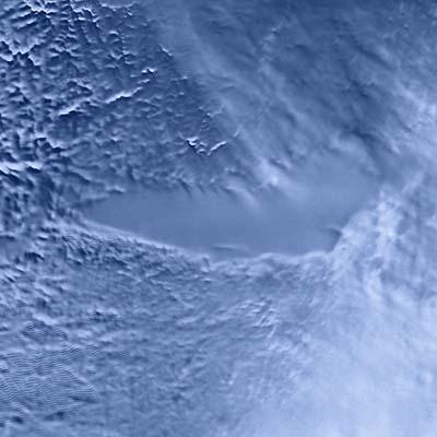 Radar-Aufnahme des Wostok-Sees