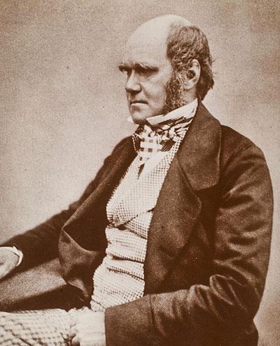 """Charles Darwin zur Zeit der Veröffentlichung von """"On the Origin of Species"""""""