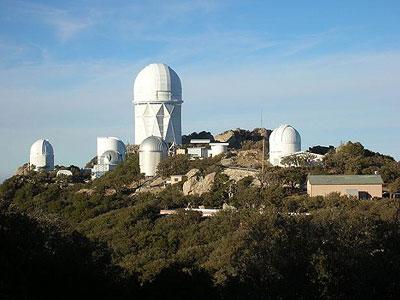 Observatorium Kitt Peak in Arizona