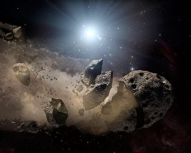 Ist der Asteroid porös oder besteht aus Trümmern, funktioniert das Sprengen oder Rammen nicht.