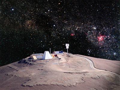 Observatorium der Ruhr-Universität Bochum in der Atacamawüste