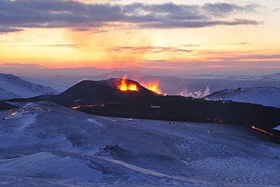 Ausbruch am Fimmvörðuháls am 20.März 2010