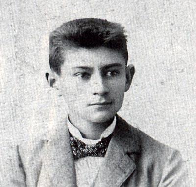 Der Schriftsteller Franz Kafka schrieb mit links