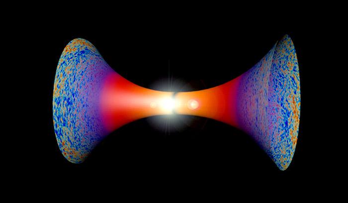 Gab es statt eines Uranfangs im Urknall nur einen Übergang von einem Universum ins nächste? © MMCD