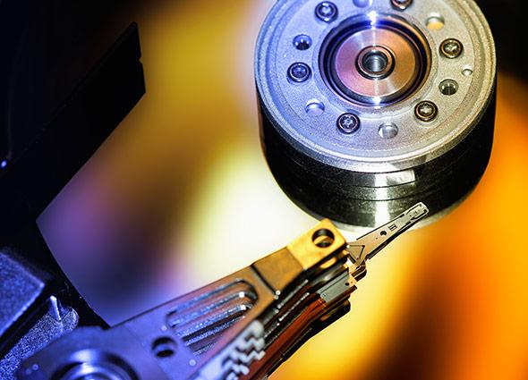 Auf Festplatten und Servern lagern immer mehr Daten