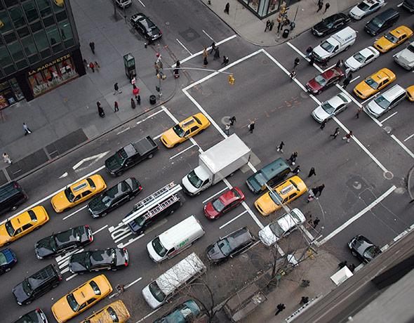 Mehr Durchkommen in der Rush-Hour dank Big Data?