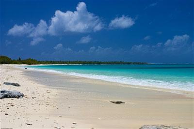 Strand auf Bikini Island