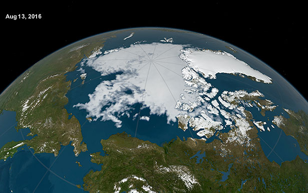 Das abtauende Meereis macht die Arktis und vor allem das Nordpolarmeer zugänglicher - auch für Rohstoffjäger.
