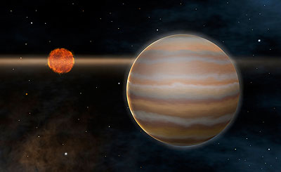 2M1207 ist der erste Braune Zwerg mit einem Exoplaneten, der entdeckt wurde.