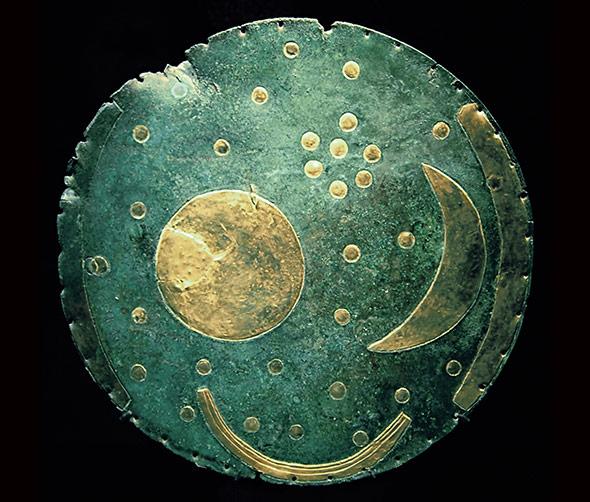 Die Himmelsscheibe von Nebra - der Schlüsselfund für die Astronomie der europäischen Bronzezeit