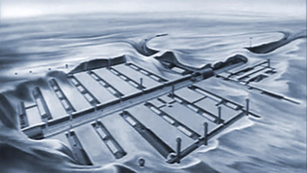 Vor 60 Jahren wurde Camp Century gebaut – eine Stadt unter dem Eis Grönlands. © US Army