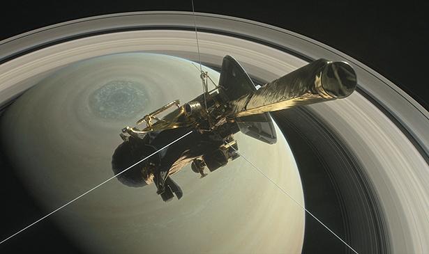 Raumsonde Cassini am Saturn - eine echte Erfolgsgeschichte.