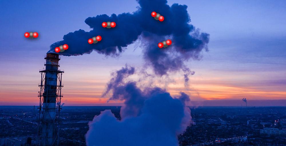 Wie lässt sich CO2 aus dem Abgas oder der Luft abscheiden? © 3sbworld/ Getty images