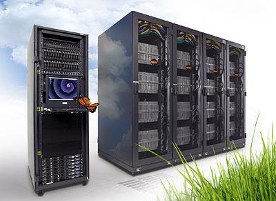 Der Supercomputer QPACE am Standort Jülich