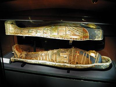 Was sich in der Umhüllung einer Mumie verbirgt, ist oft unklar