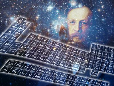 Was ist die Ordnung der Elemente und damit der Bausteine aller Materie?