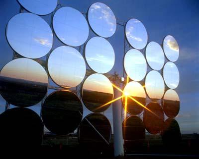 Sonnenkraft-Zapfanlagen