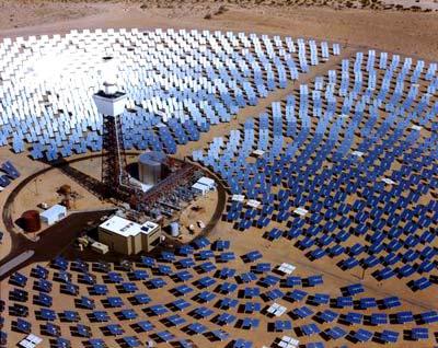 Sonnenenergiekraftwerk Solar One