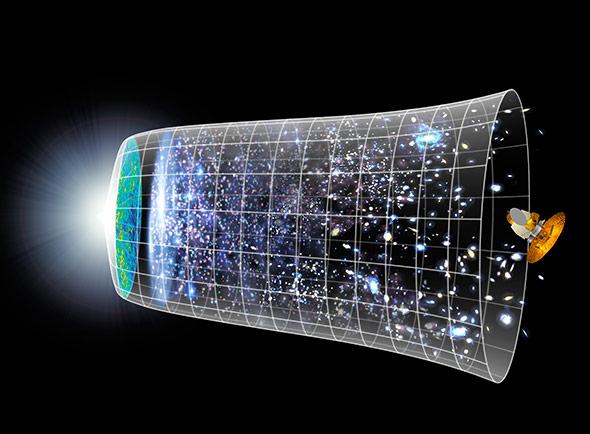 Das Universum dehnte sich nach dem Urknall gewaltig aus
