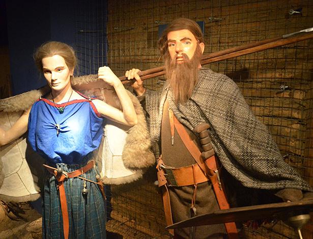 Tracht der Przeworsk-Kultur, zu der Vandalen ursprünglich gehörten