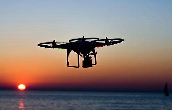 Eine Drohne - nützlich oder bedrohlich?