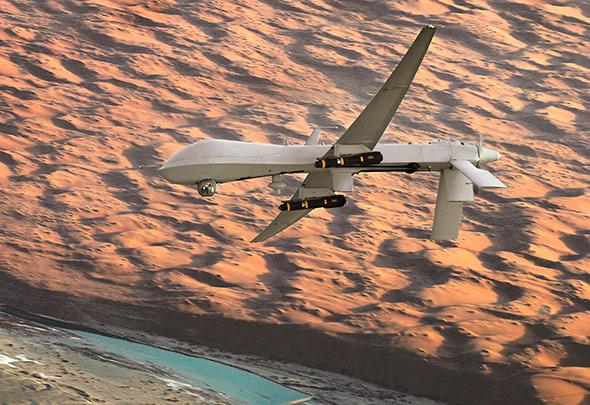 """Eine Predator-Drohne des US-Militärs - sie wurde per """"Spoofing"""" gekapert."""