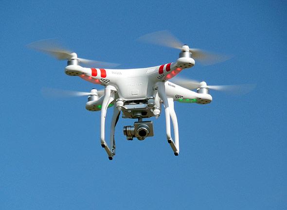 Fliegendes Auge: Quadrocopter mit Kamera