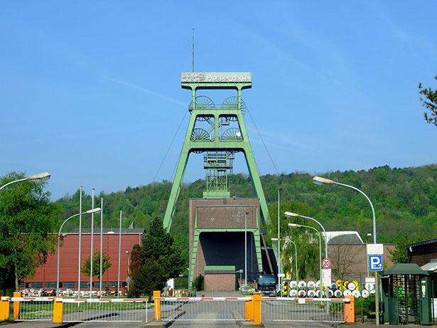 Das Steinkohle-Bergwerk Prosper-Haniel in Bottrop soll 2018 geschlossen werden.