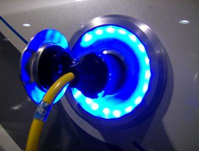 Elektroautos tanken Strom
