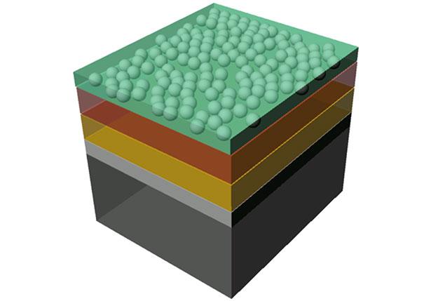 Aufbau einer als künstliches Blatt fungierenden Solarzelle