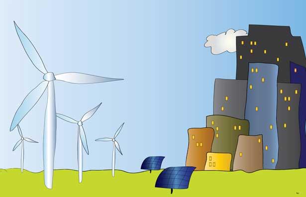 Mit der Energiewende sorgen mehr und mehr erneuerbare Energien für Strom in Deutschland, vor allem Wind- und Solarenergie.
