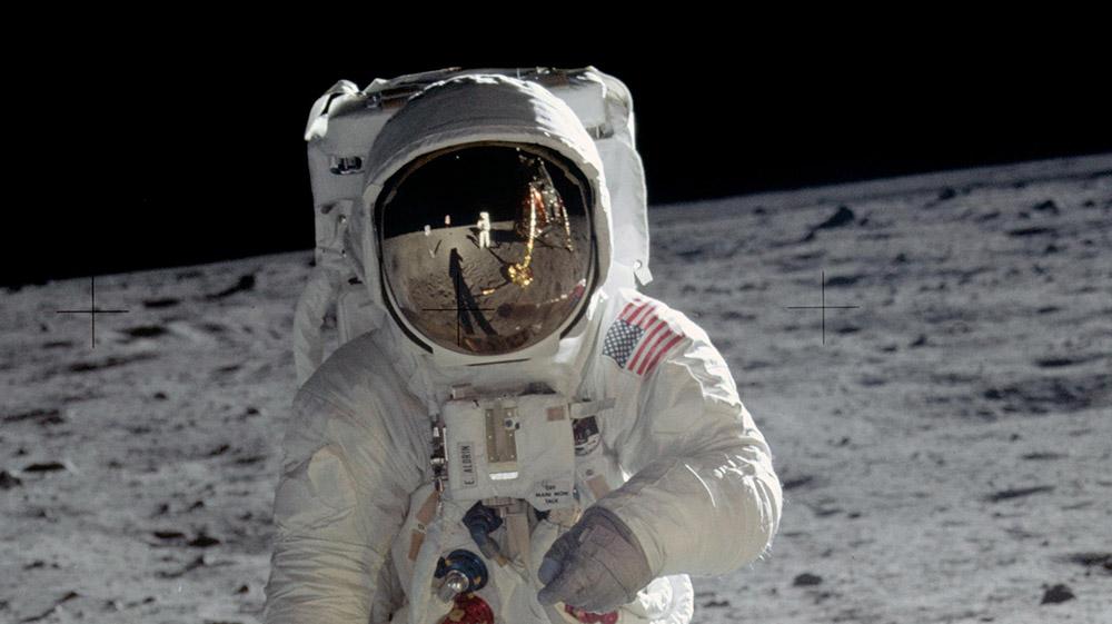 Die erste Mondlandung am 20. Juli 1969 war nicht nur ein Meilenstein der Raumfahrt – sie hat auch die Wissenschft vorangebracht. © NASA