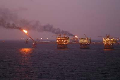Erdölförderung an der vietnamesischen Küste