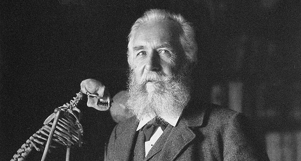 """Ernst Haeckel – Naturphilosoph, Vordenker der Evolutionsbiologie und """"deutscher Darwin"""". © historisch, aus: Photographische Gesellschaft, 1906"""