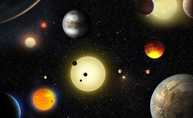 Das Weltraumtelekop Kepler hat schon unzählige Exoplaneten aufgespürt. Jetzt haben Astronomen 104 weitere bestätigt.