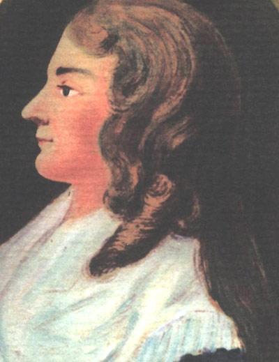 Portrait der Dorothea von Erxleben