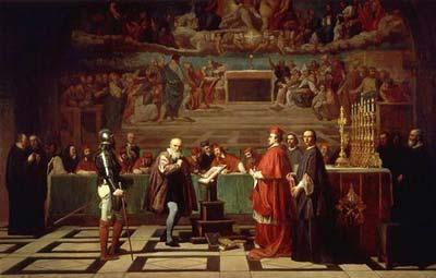 Galilei vor der Römischen Inquisition