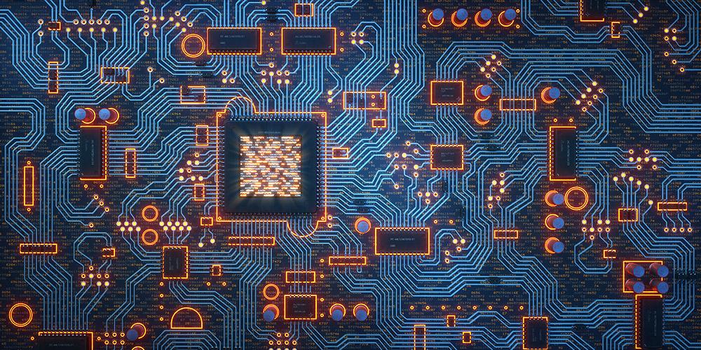 Ob Elektronik-Schaltkreise oder Metalllegierungen – sie können mittels Spezialdrucker gefertigt werden. © matejmo/ Getty images
