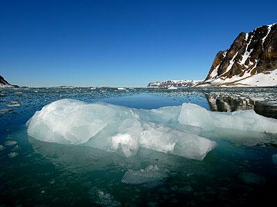 Landschaft auf Spitzbergen