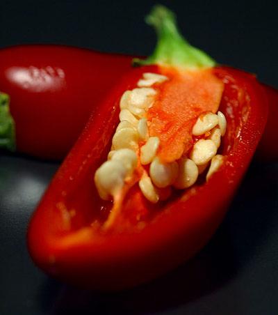 Die Schärfe der Chili ist eigentlich ein Schmerzreiz