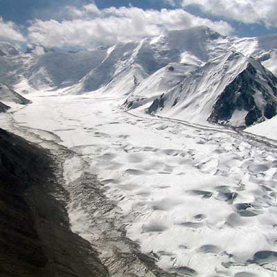 Saryjaz-Gletscher