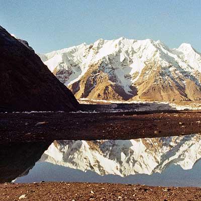 Blick vom nördlichen auf den südlichen Inyltschek